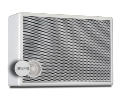 SM6V-W On-Wall Speaker with Volume Control 100V 6W White