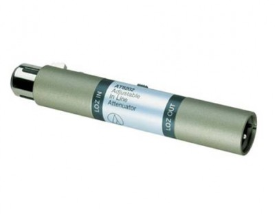 AT8202 In-line Attenuator -10-20-30dB XLRM Out
