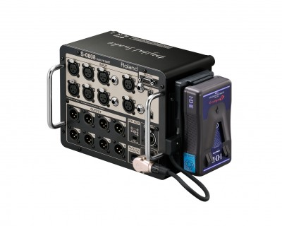S0808 Compact 8x8 Satellite Digital Stage Box 8 XLR In/Out