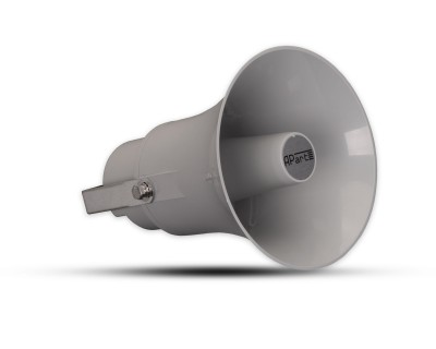 H20G Compact PA Horn 20W 100V/8ohm 30W Grey