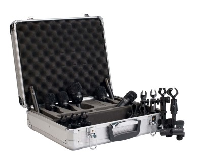 FP7 Drum Pack in Ali Case (3xF2/1xF5/1xF6/2xF9 Overhead)