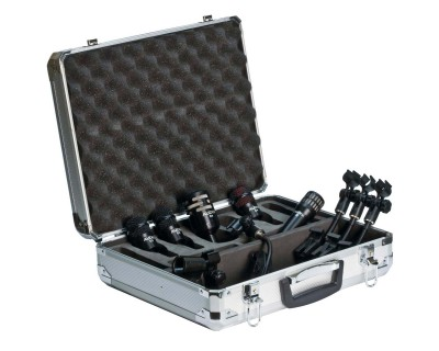DP5A Drum Pack in Ali Case (1xI5/2xD2/1xD4/1xD6)