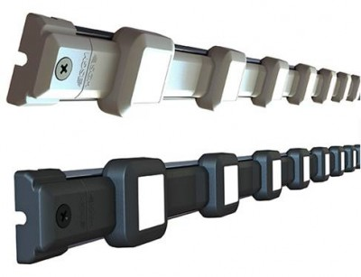 LP700 P120 RGB LED Chain 56 Pixels with 120mm Pixel Spacer