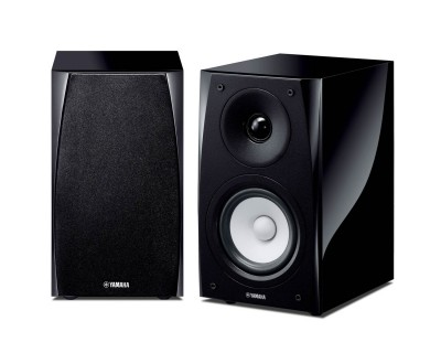 NSBP182 PAIR  Piano Black 2-Way Bass Reflex Speaker 110W