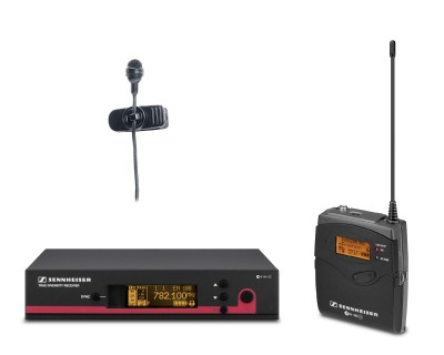 EW122 G3-1G8 Lapel System with ME4 Cardioid Lapel Mic 1.8GHz