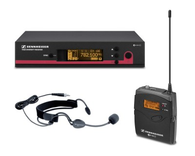 EW152 G3-GB Headworn System with ME3ew Cardioid Headmic CH38