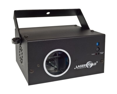 EL230RGB Red Green Laser Effect with 4 Beam Apertures