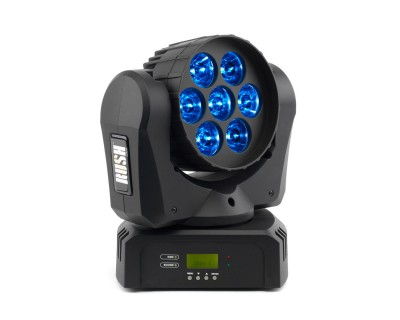 RUSH MH2 Powerful Compact RGBW LED Moving Head Wash Light