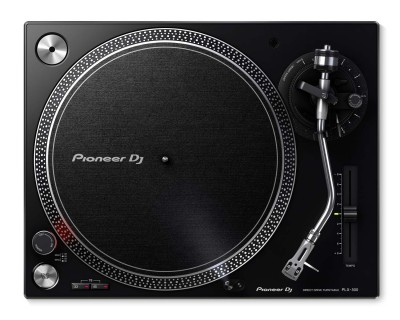 PLX500 BLACK PRO DJ Hi Torq S-Tonearm Direct Drive Turntable