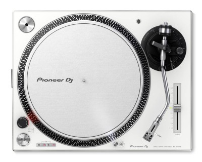 PLX500 WHITE PRO DJ Hi Torq S-Tonearm Direct Drive Turntable