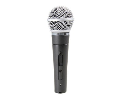 SM58S Dynamic Cardioid Mic (Switched Version of SM58)