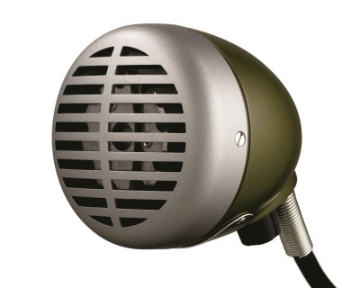520DX Classic Harmonica Microphone 'The Green Bullet'