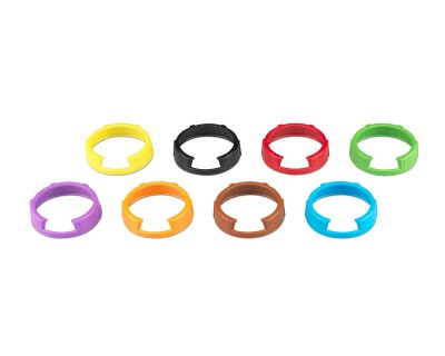 KEN2 G3 Set of 8 Coloured ID Rings for G3 SKM100/300/500