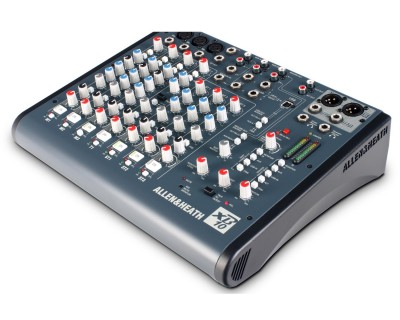 XB10 Compact Broadcast Mixer 3-Mic/Line & 3-Stereo Inputs