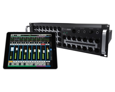 DL32R 32Ch Wireless Digital Sound Rack Mixer iPad Control 3U