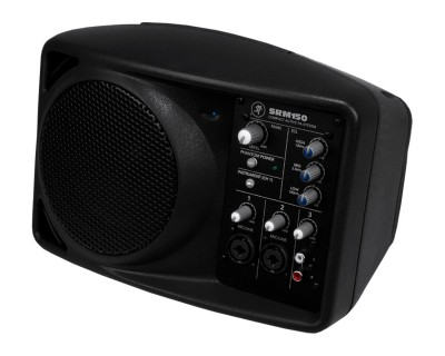 "SRM150 5.25"" Active Mini PA System with Built-in 3Ch Mixer"