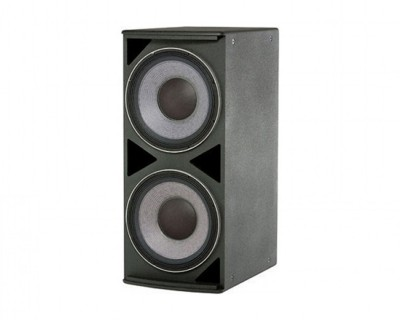 "ASB4128 AE-Series Medium-Power Dual 2x18"" Subwoofer Black"
