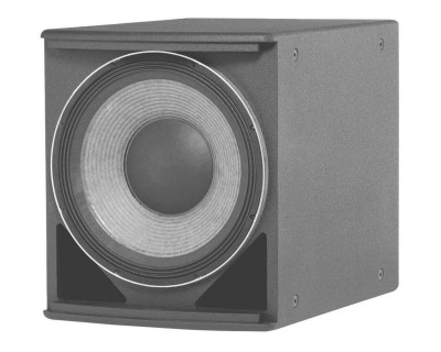 "ASB6118 AE-Series High-Power Single 1x18"" Subwoofer Black"