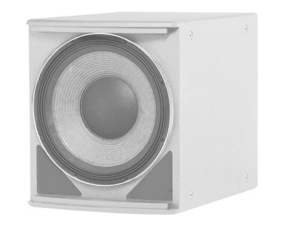 "ASB6118-WH AE-Series High-Power Single 1x18"" Subwoofer White"