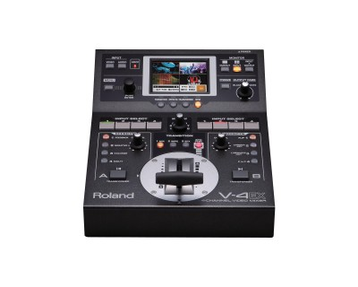 V4EX 4Ch HDMI I/O AV Mixer with Embedded Audio & Streaming