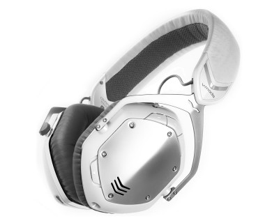 XFBT Crossfade Wireless Over-Ear Pro Headphones WH/SILVER