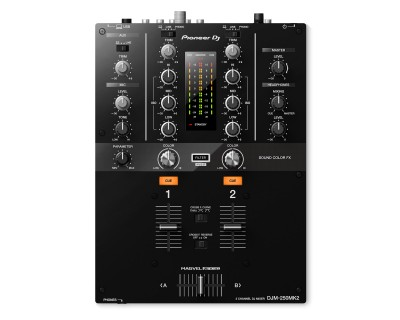DJM250MK2 2Ch DJ Mixer with USB & On-Board Effects BLACK