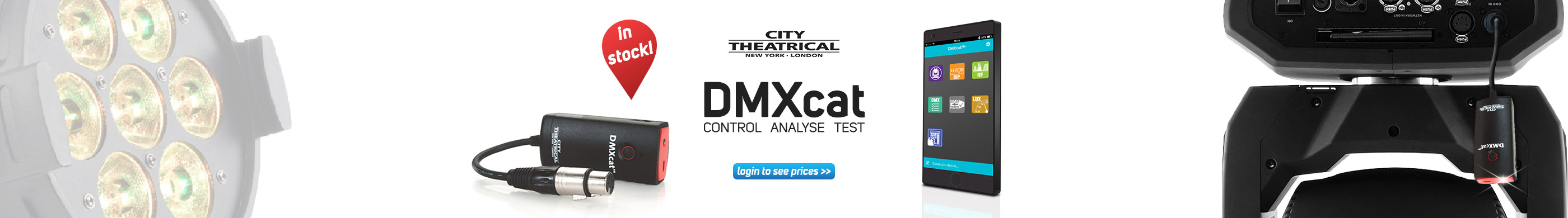 Lighting: Introducing the DMXcat