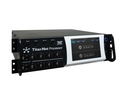 "Titan Net Processor 16 DMX Universe with 7"" Touchscreen"