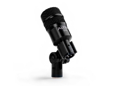 D2 Hypercardioid Drum/Instr Mic with Increased Mid-response