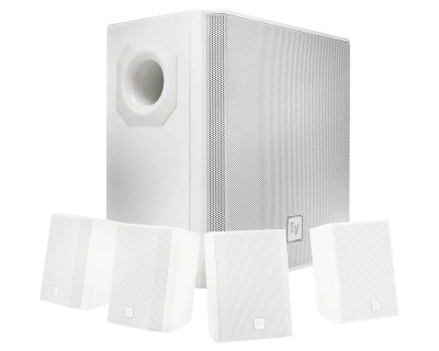 EVID 40SW Subwoofer 200W Component for EVID S44W WHITE