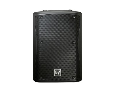 "ZX3-60Pi Black 12"" 2-Way Weather Res Speaker 60x60deg 600W"