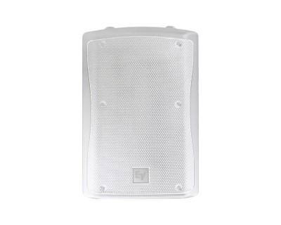 "ZX3-60Pi White 12"" 2-Way Weather Res Speaker 60x60deg 600W"