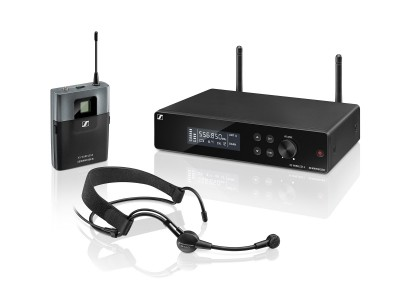 XSW2-ME3 GB Headworn System with ME3 Cardioid Headmic CH38