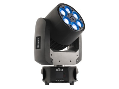 Intimidator Trio 6xLED RGBW Beam/Wash/Effect Moving Head BLK