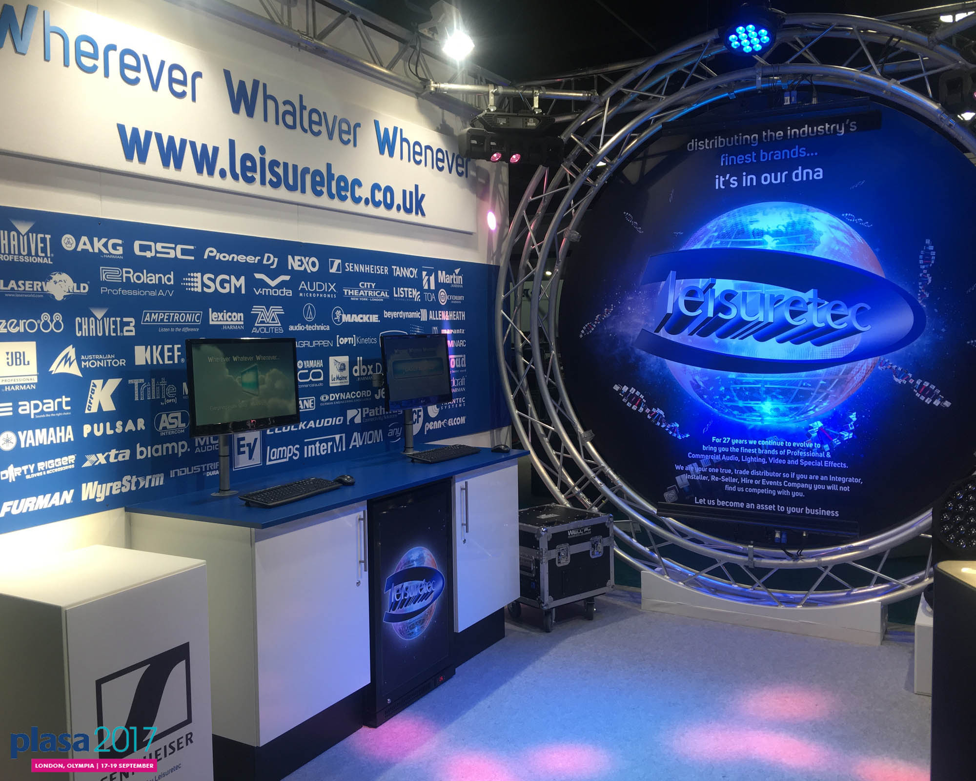 PLASA Show is back to celebrate its 40th Anniversary