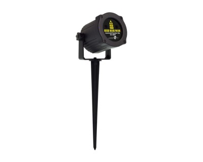 GS60RG IP65 Garden Laser 60mW Red/Green with Stake
