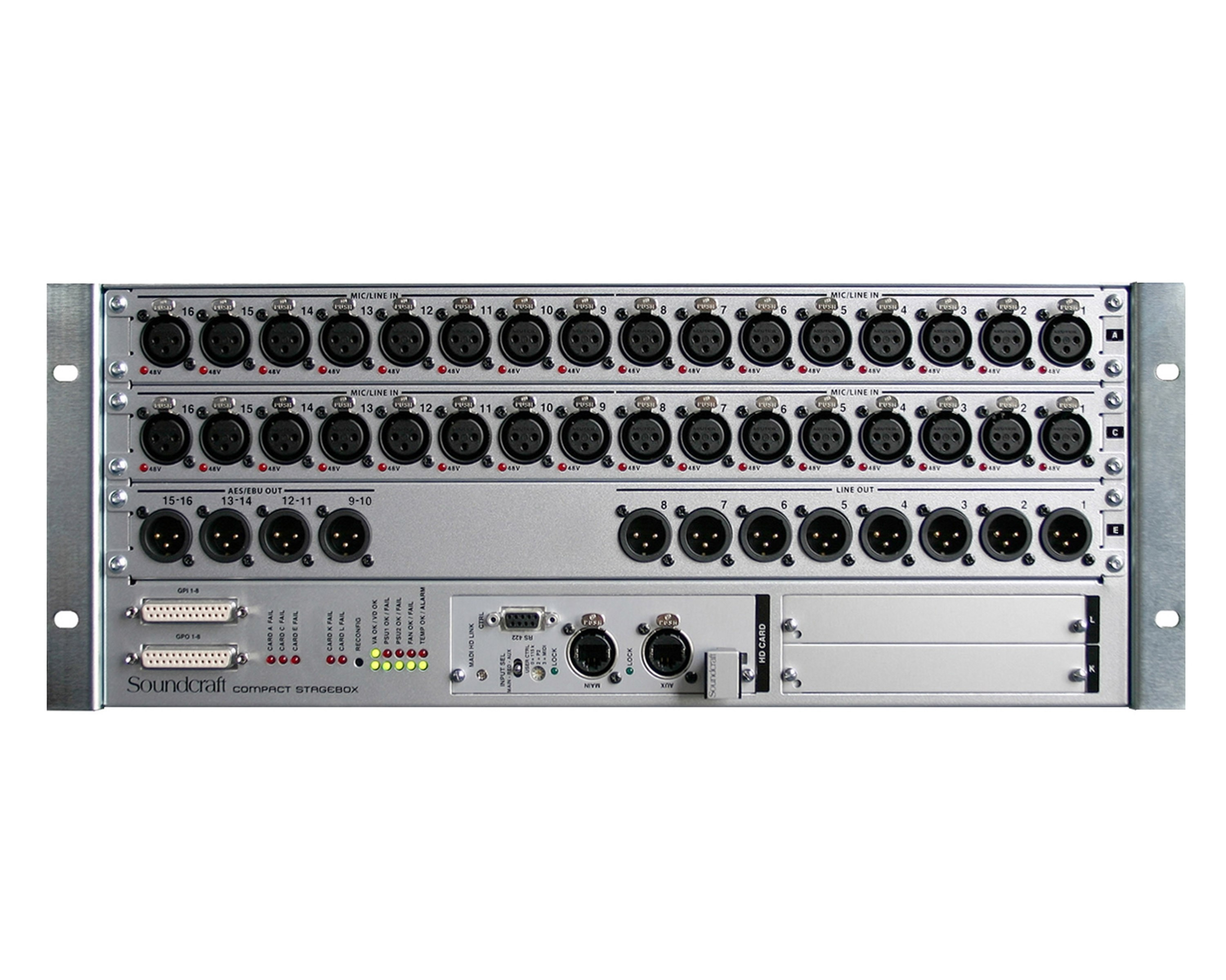 Buy Compact Stagebox 32in/8analalogue+8AES Out Optical Version