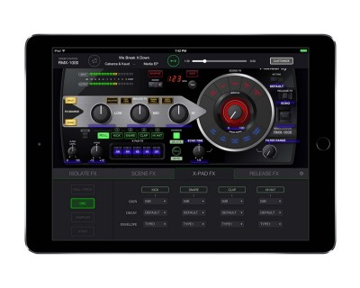 RMX1000 iPad App for iTunes Music Library