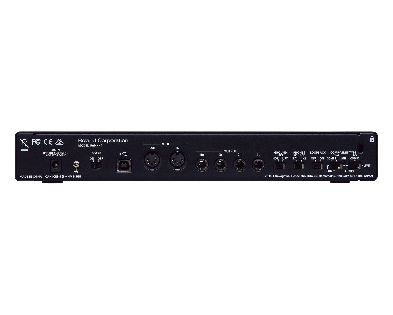 Buy Rubix44 Usb Audio Interface 4 In Out For Pc Mac Ipad 2036 46 Wiring Diagram Webrol00173 Leisuretec Distribution