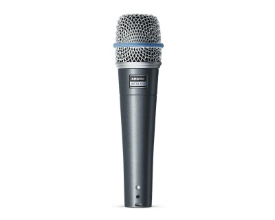 BETA 57A Vocal/Instrument Dynamic Supercardioid Mic