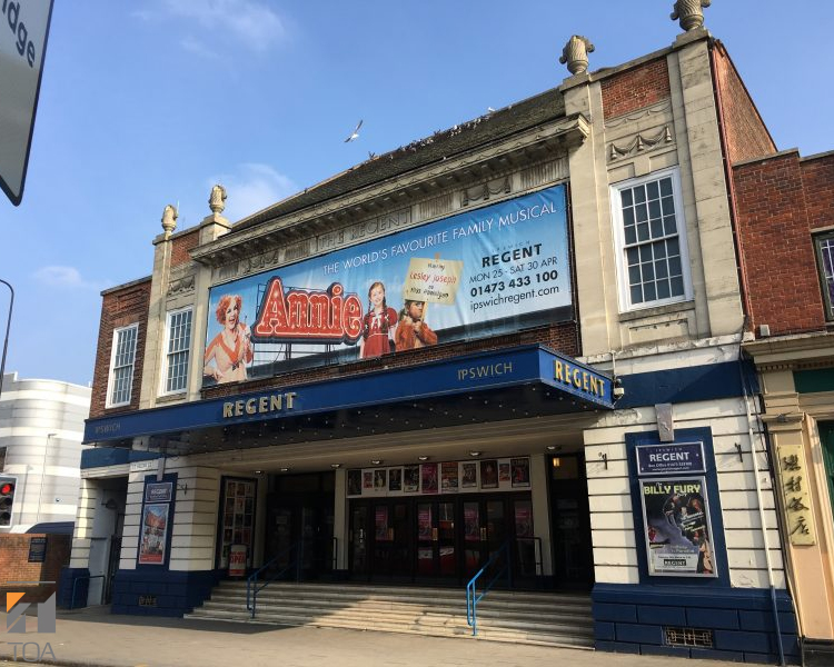 TOA Installed in Ipswich Regent Theatre
