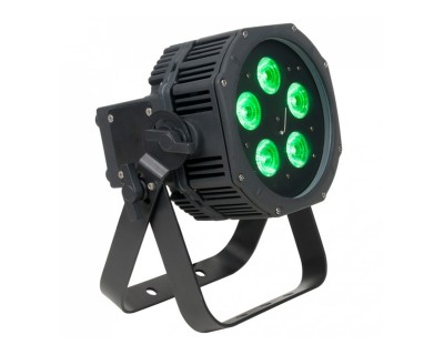WiFly EXR HEX5 IP PAR Can with 5x10W RGBWA+UV LEDs IP65