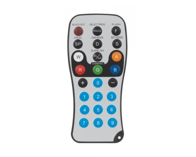 LED RC2 Remote Control for ADJ Flat PAR Series