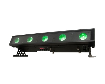 WiFly BAR QA5 Battery Powered Linear Bar with 5x5W RGBA LEDs