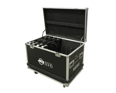 AV6FC Flight Case for 8x AV6X Video Panels