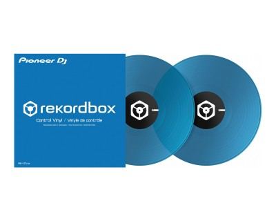 RBVD1CB Control Vinyl Clear Blue for PLX500/1000 (PAIR)