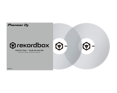 RBVD1CL Control Vinyl Clear for PLX500/1000 (PAIR)