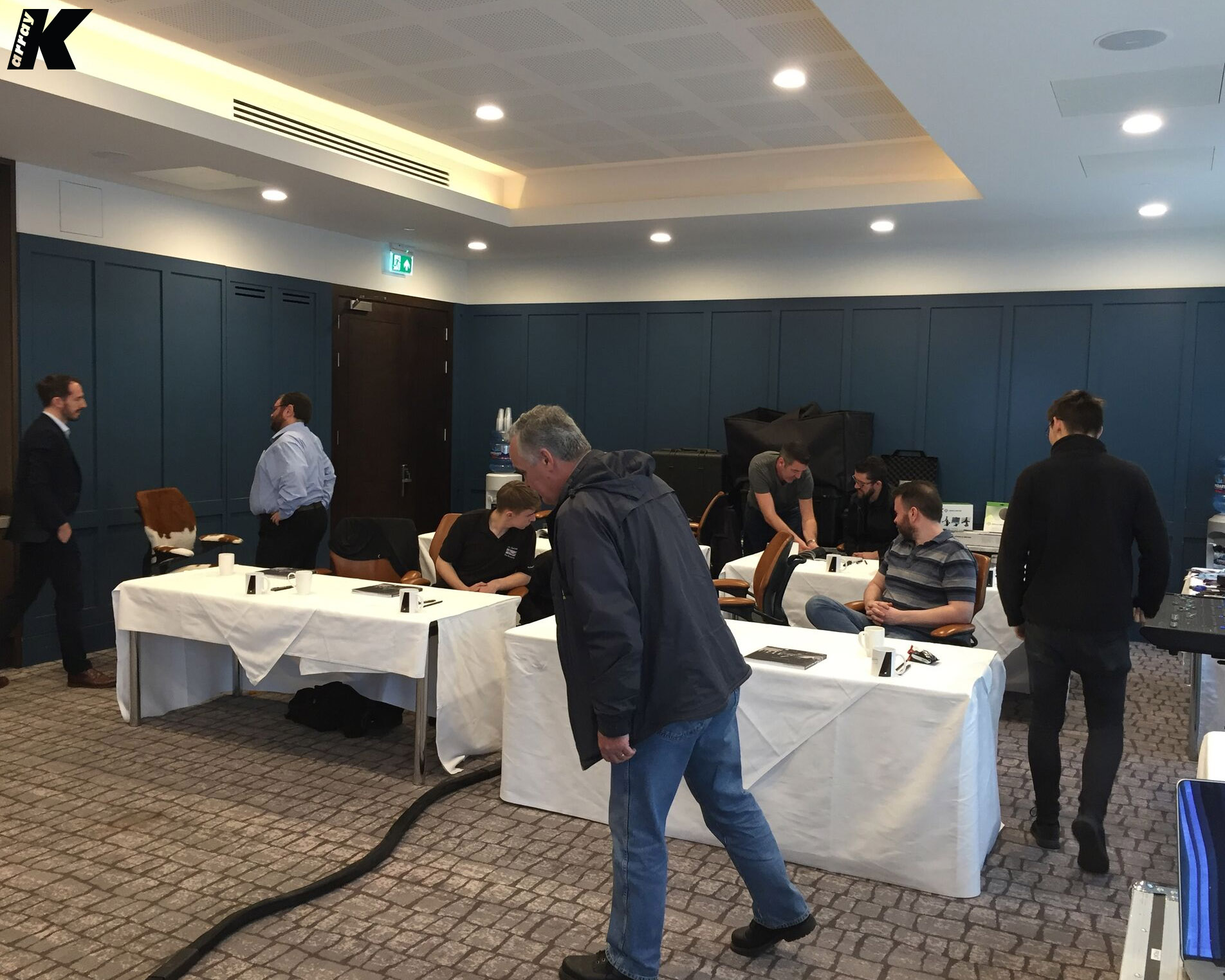 K-array Impresses at Dublin Seminar