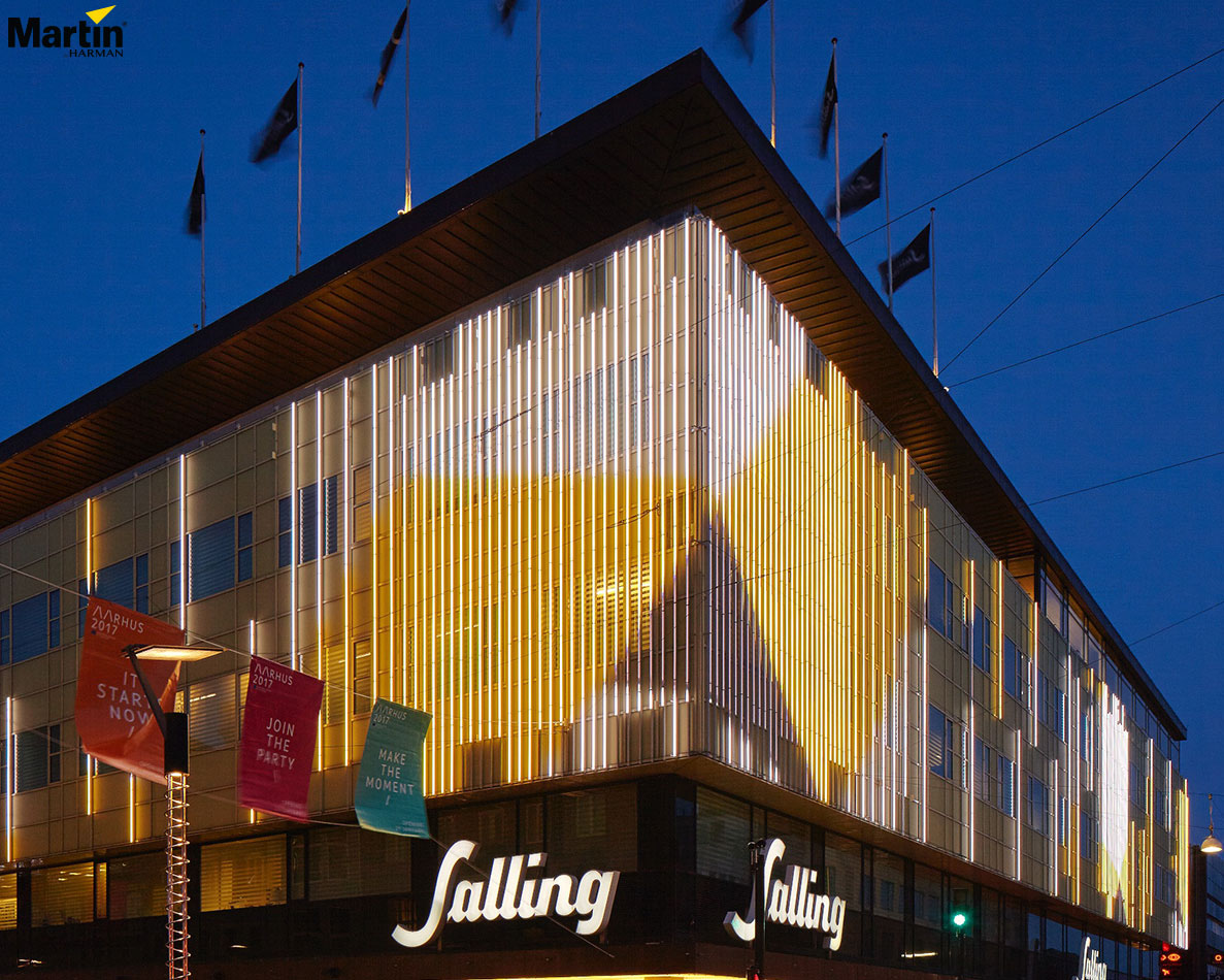 Martin by HARMAN Facilitates Interactive Media Facades