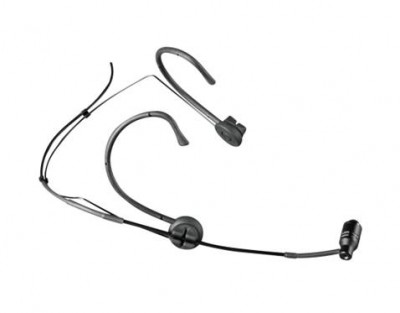 MU53HN 10mm Unidirectional Sweat Res Head Mic Black Mini XLR